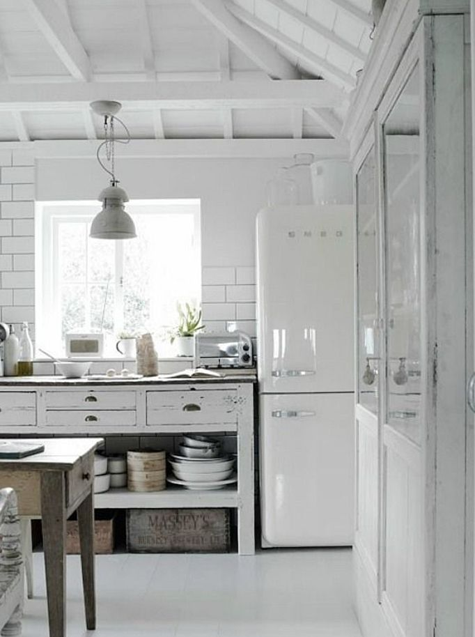 White SMEG | Keittiö ideat | Pinterest