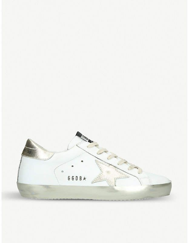 Leather trainers, Golden goose sneakers