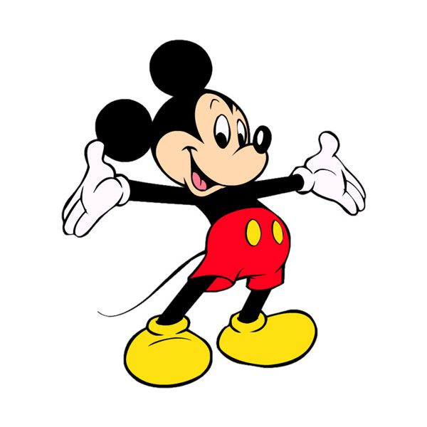 Walt Disney Clipart And Disney Animated Gifs Disney Graphic Liked On Polyvore Mickey Mouse Pictures Mickey Mouse Coloring Pages Mickey Mouse Clipart