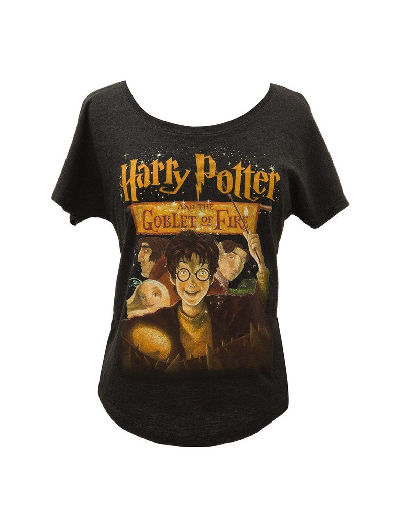 15ccca1d Look what I found from Out of Print! Harry Potter and the Goblet of Fire women's  relaxed fit t-shirt – Out of Print #OutofPrintClothing