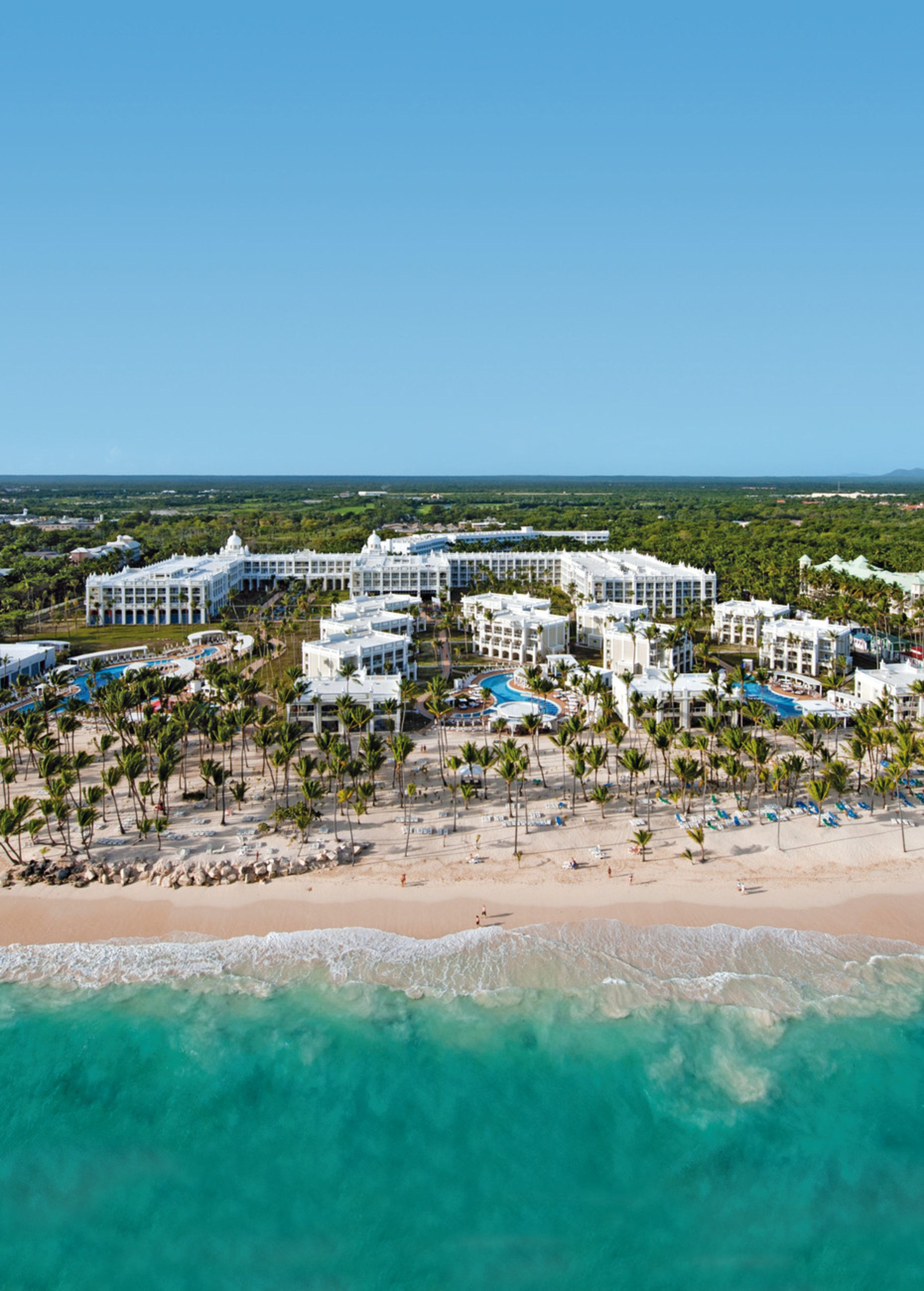Arena Gorda Beach Punta Cana Dominican Republic All Inclusive Hotel Riu Palace Bavaro