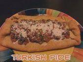 Stuffed Pide Turkish Pizza  turkish