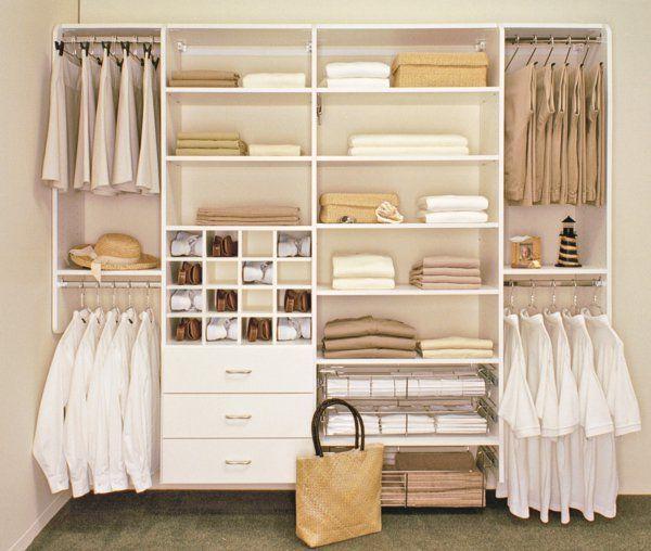 begehbarer kleiderschrank - wie sie die perfekte ordnung schaffen, Schlafzimmer entwurf