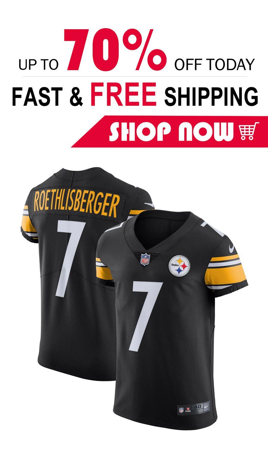 watch 65e2d b2c19 mens Ben Roethlisberger Pittsburgh Steelers football Player ...