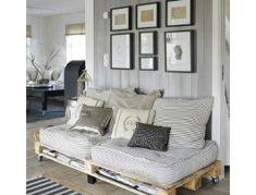 Παλέτες κρεβάτια, παλέτες καναπέδες, παλέτες τραπέζια... παλέτες παντού. Εμπνευστείτε από την τάση της εποχής και ανανεώστε τον χώρο σας. Το μόνο που χρειάζεστε είναι πολύ φαντασία.