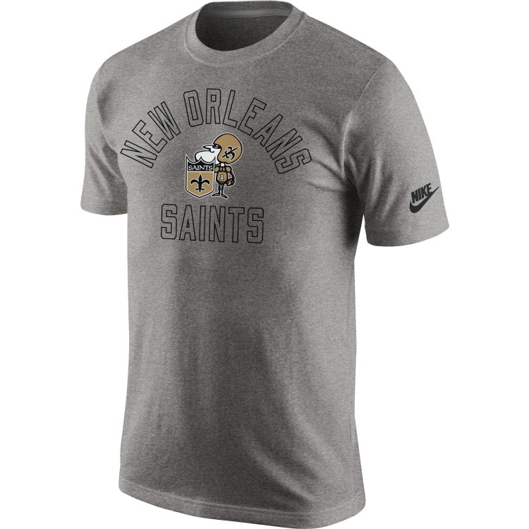 Support the Saints in this t-shirt on gameday in New Orleans.  NFL ... 6096c60ba