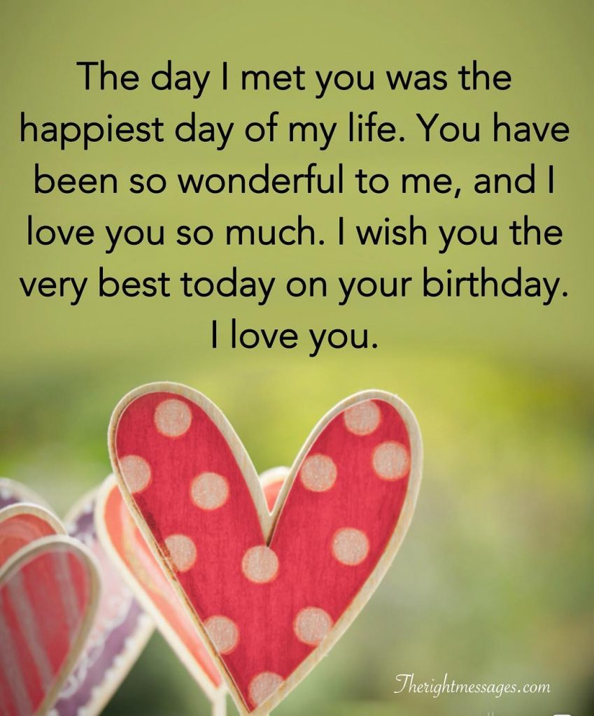 Short And Long Romantic Birthday Wishes For Boyfriend ...