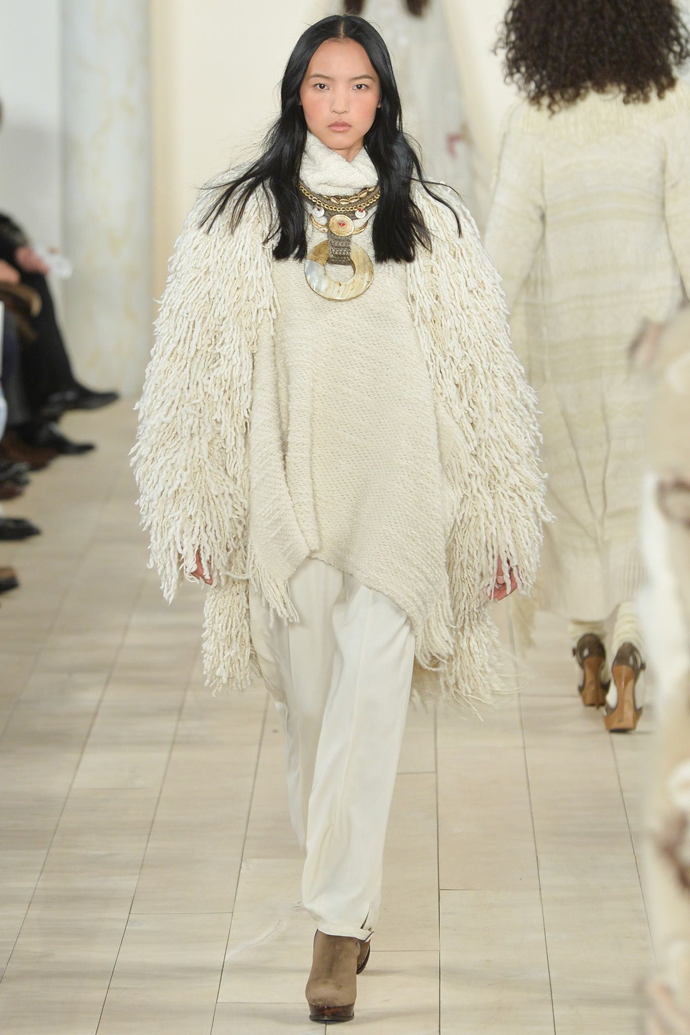 Ralph Lauren Fall 2015 Ready-to-Wear Fashion Show - Luping Wang