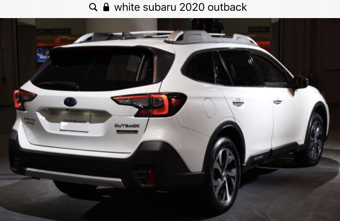 2020 Outback Subaru Outback Car Ins Subaru