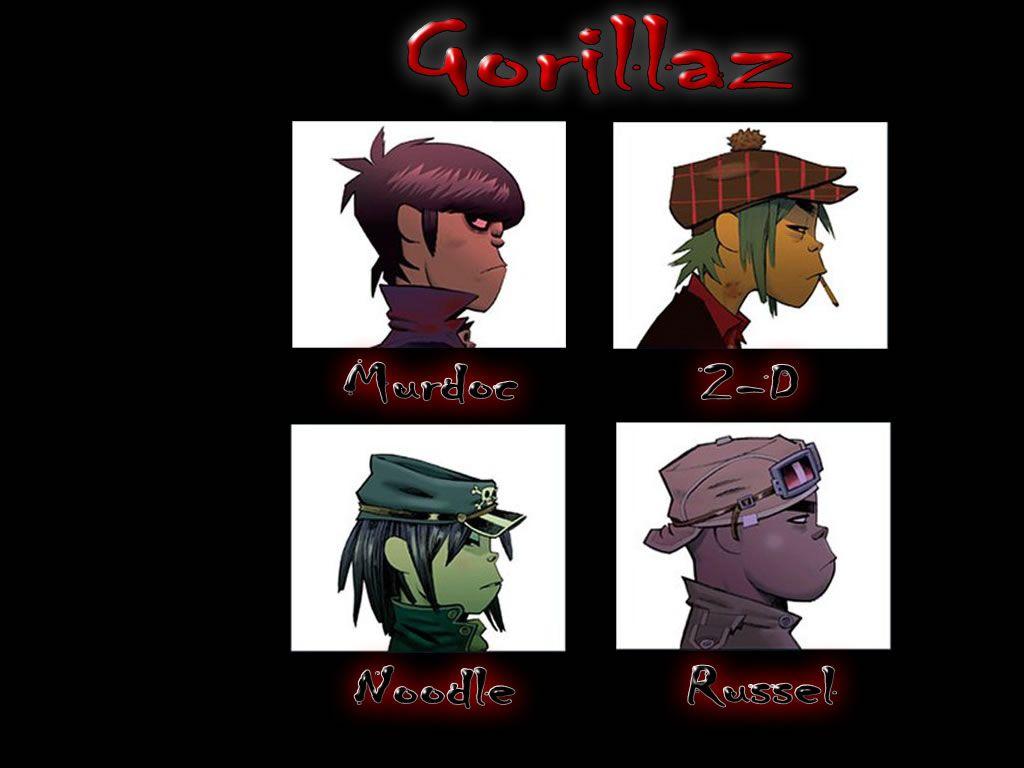 Gorilaz Music Gorillaz Music Wallpaper
