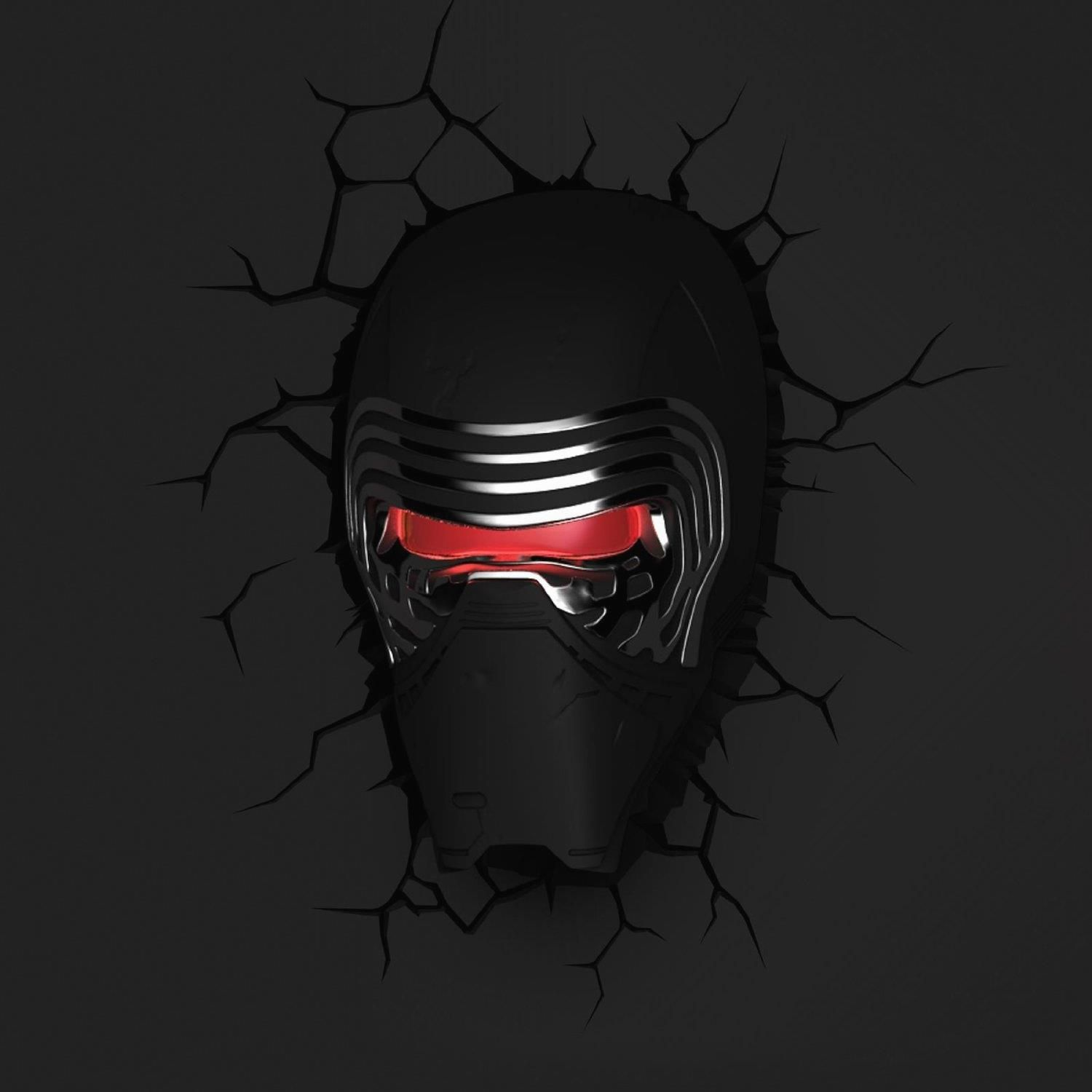 Kinderlampe Led Star Wars Kylo Ren Wandlampe 3d Light Fx Led Kinderlampe Möbel