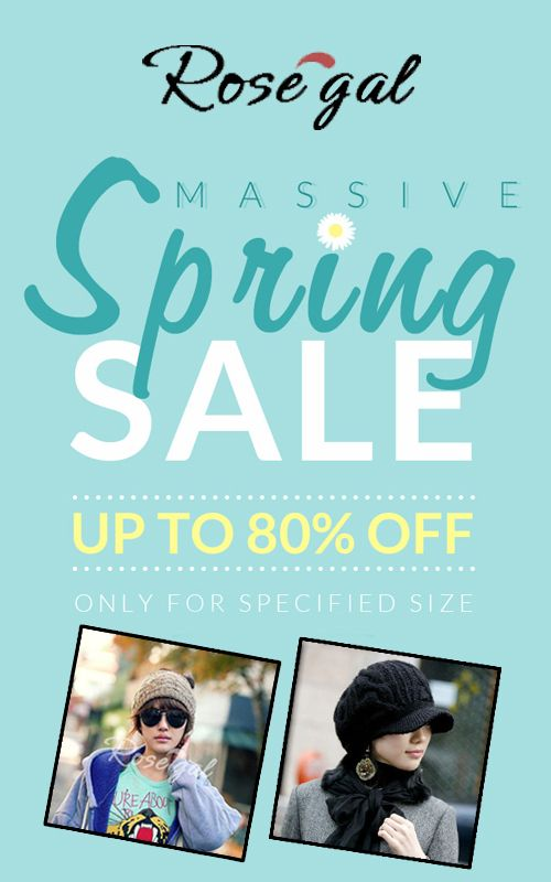 RoseGal Massive Spring Sale: Get up to 80% discount only ...
