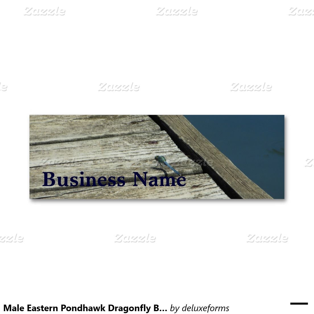 Male Eastern Pondhawk Dragonfly Business Cards | All Aboard For ...