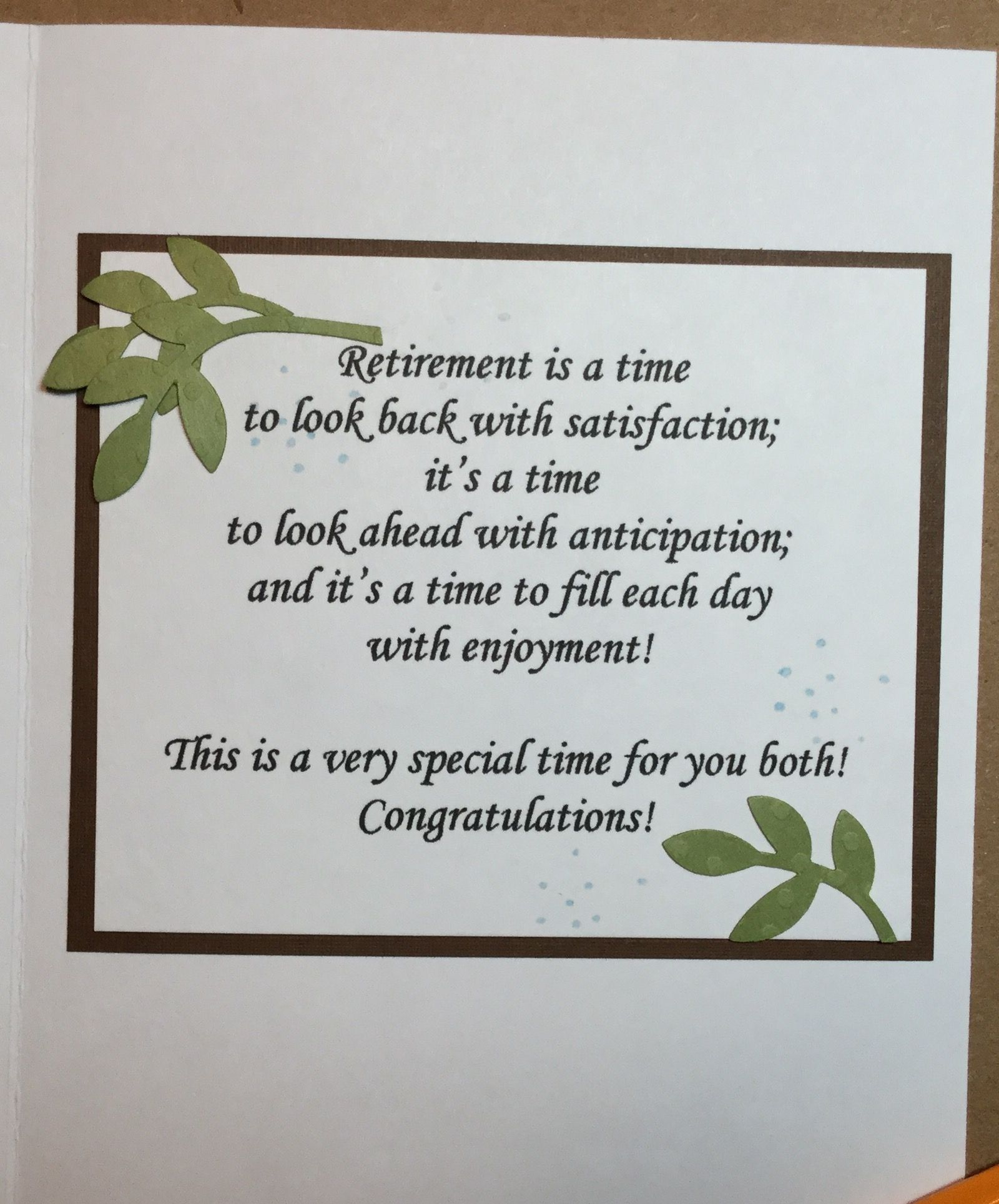 Pin by debbie on sentiments pinterest retirement retirement greeting card sentiments greeting cards scrapbook layouts scrapbooking retirement cards card ideas gift ideas card sayings handmade christmas cards kristyandbryce Images