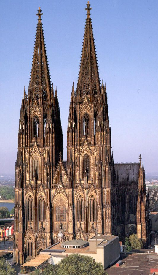 Cologne Cathedral Wikipedia The Free Encyclopedia Beautiful Buildings Cathedral Cathedral Architecture