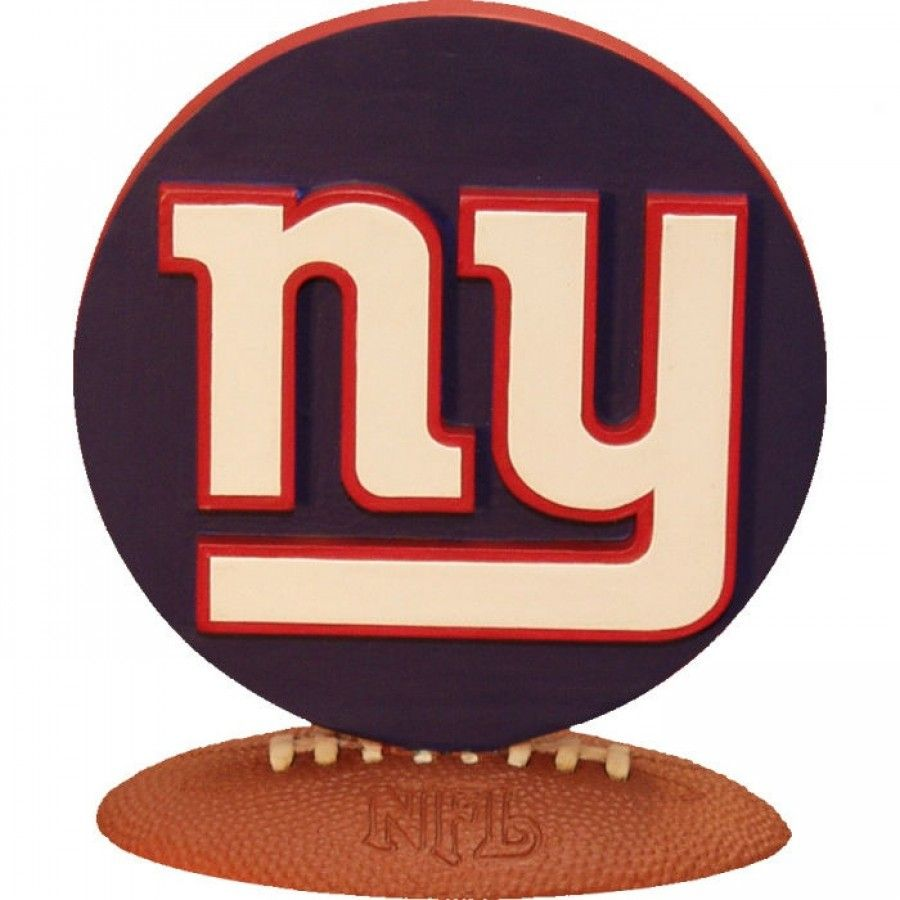 The Memory Company New York Giants 3D Logo Figurine NFL