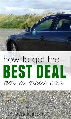 how to get a great deal on a new car best of thousandaire cars great deals budgeting. Black Bedroom Furniture Sets. Home Design Ideas