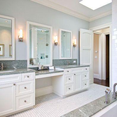 makeup vanities bath design ideas, pictures, remodel and