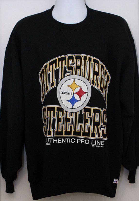 007e30d94f2 90's Vintage PITTSBURGH STEELERS Sweatshirt by TheStandoutTieShop, $48.00