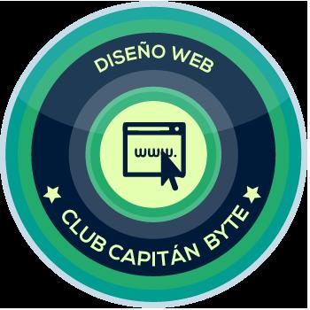 capitanbyte.com, Diseño web