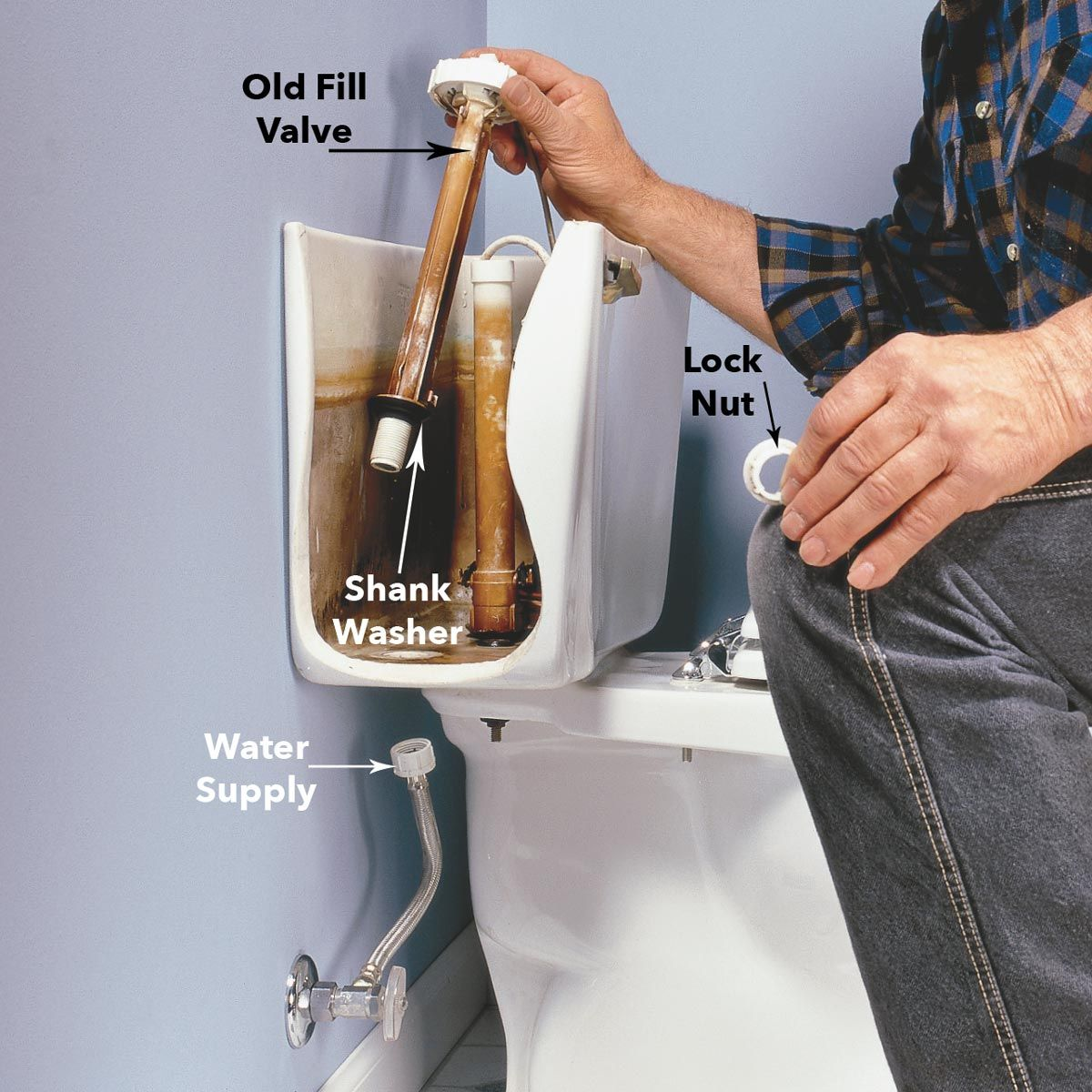 How to fix a running toilet toilet toilet repair