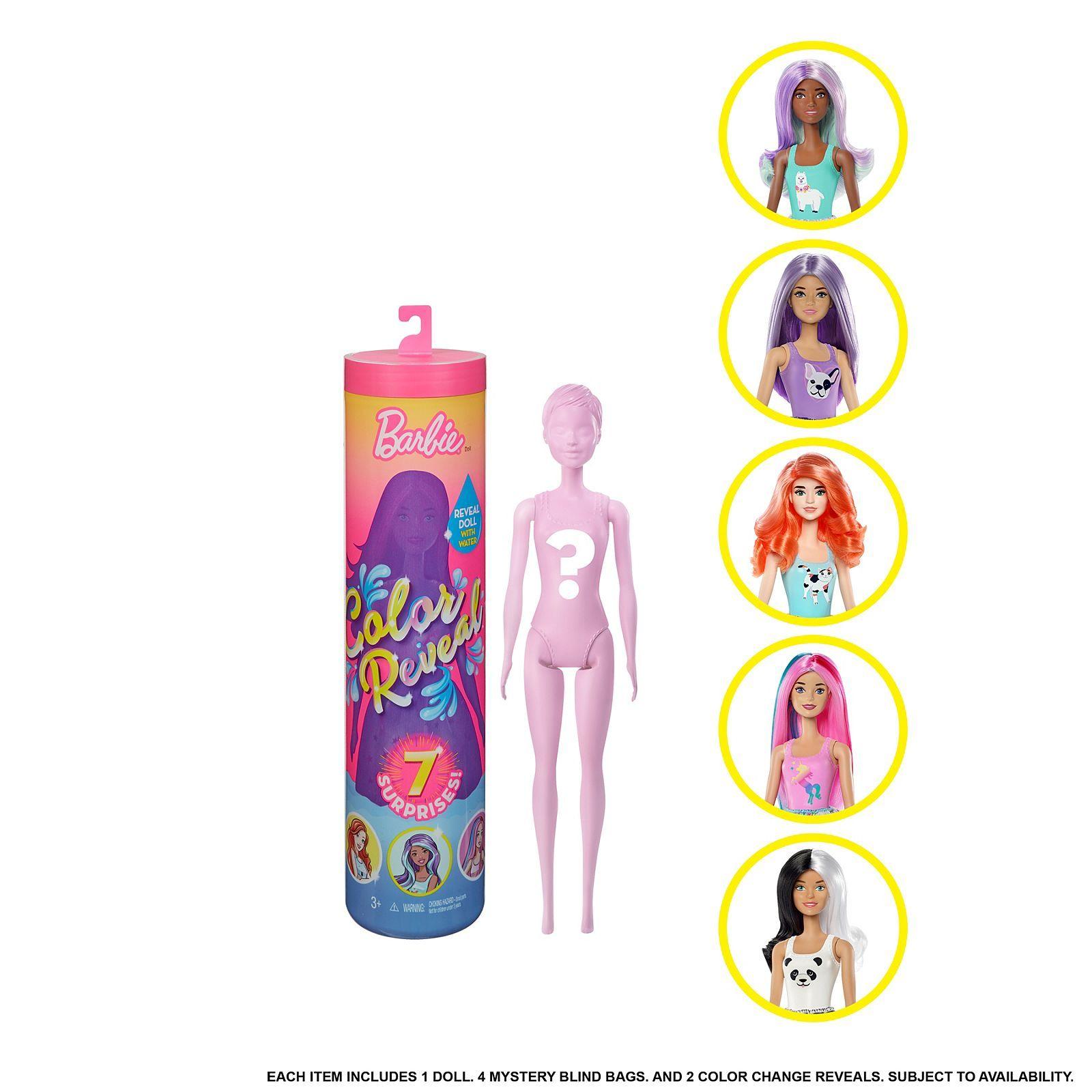 Toys R Us Barbie Reveal