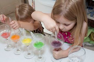 Life with Moore Babies: Experimenting with Skittles