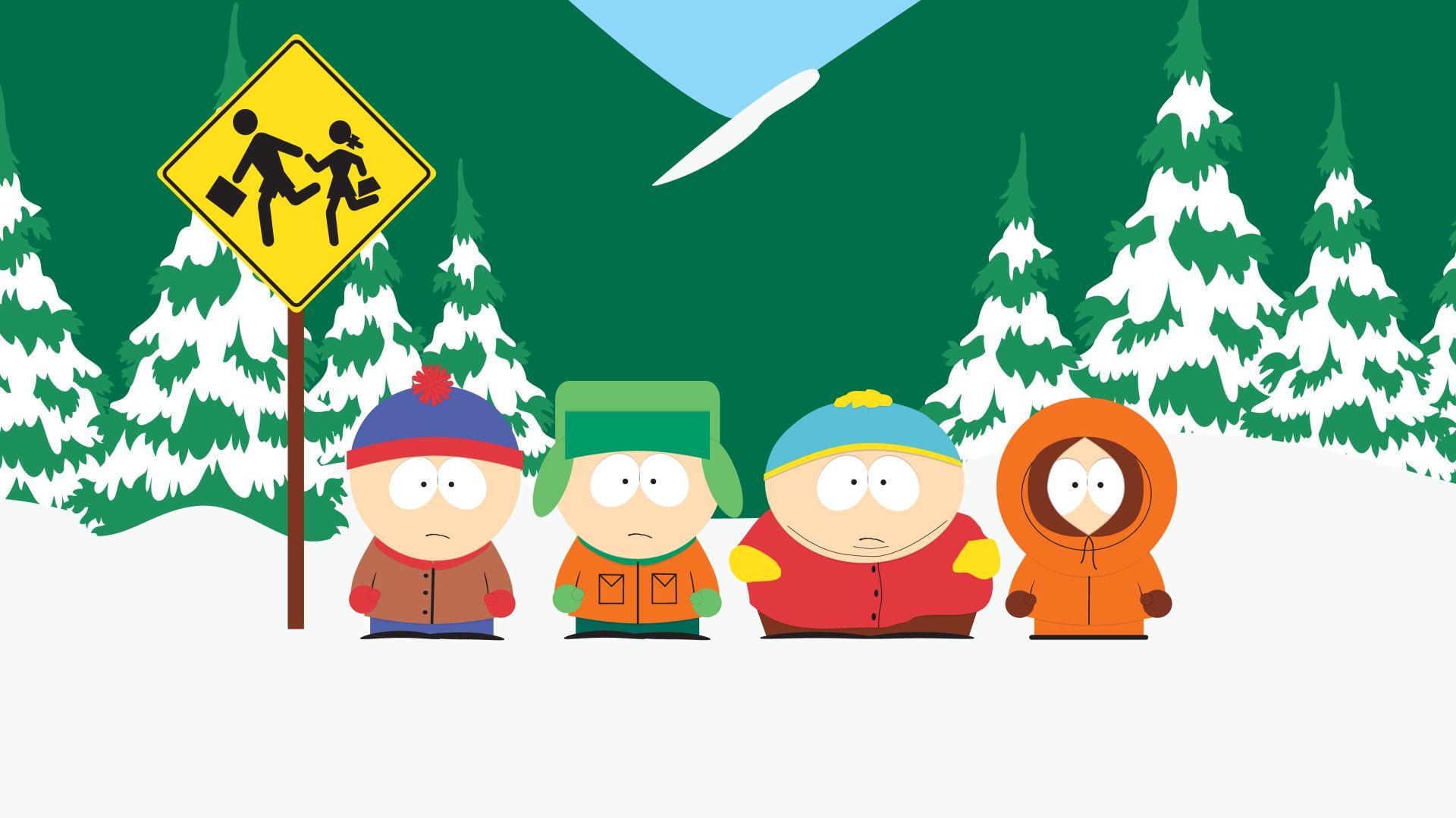TV Show South Park Kyle Broflovski Stan Marsh Eric Cartman