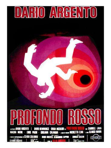 Deep Red, (AKA Profondo Rosso), 1975. Premium Poster from AllPosters.com, $19.99