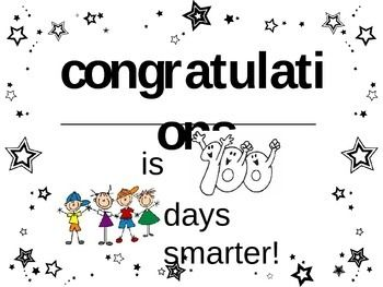 100 Days Smarter Certificate With Images School Certificates