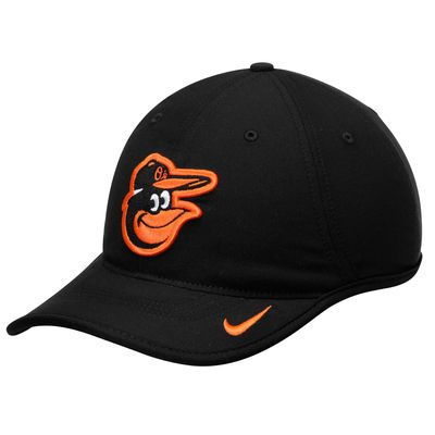 7dc26500544 Men s Nike Black Baltimore Orioles Vapor Performance Adjustable Hat. Men s  Nike Black Baltimore Orioles Team Logo Heritage 86 Aero ...