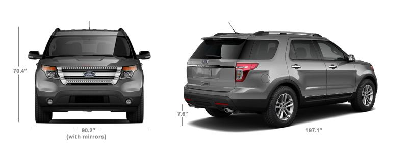 2015 Ford Explorer Interior Dimensions In Head Room First