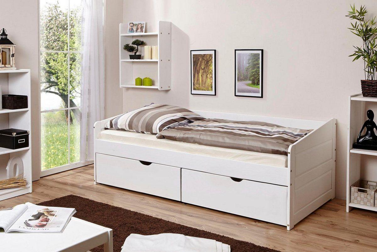 Daybett Micki Mit 2 Schubkasten Kiefer Bett Einzelbett Und