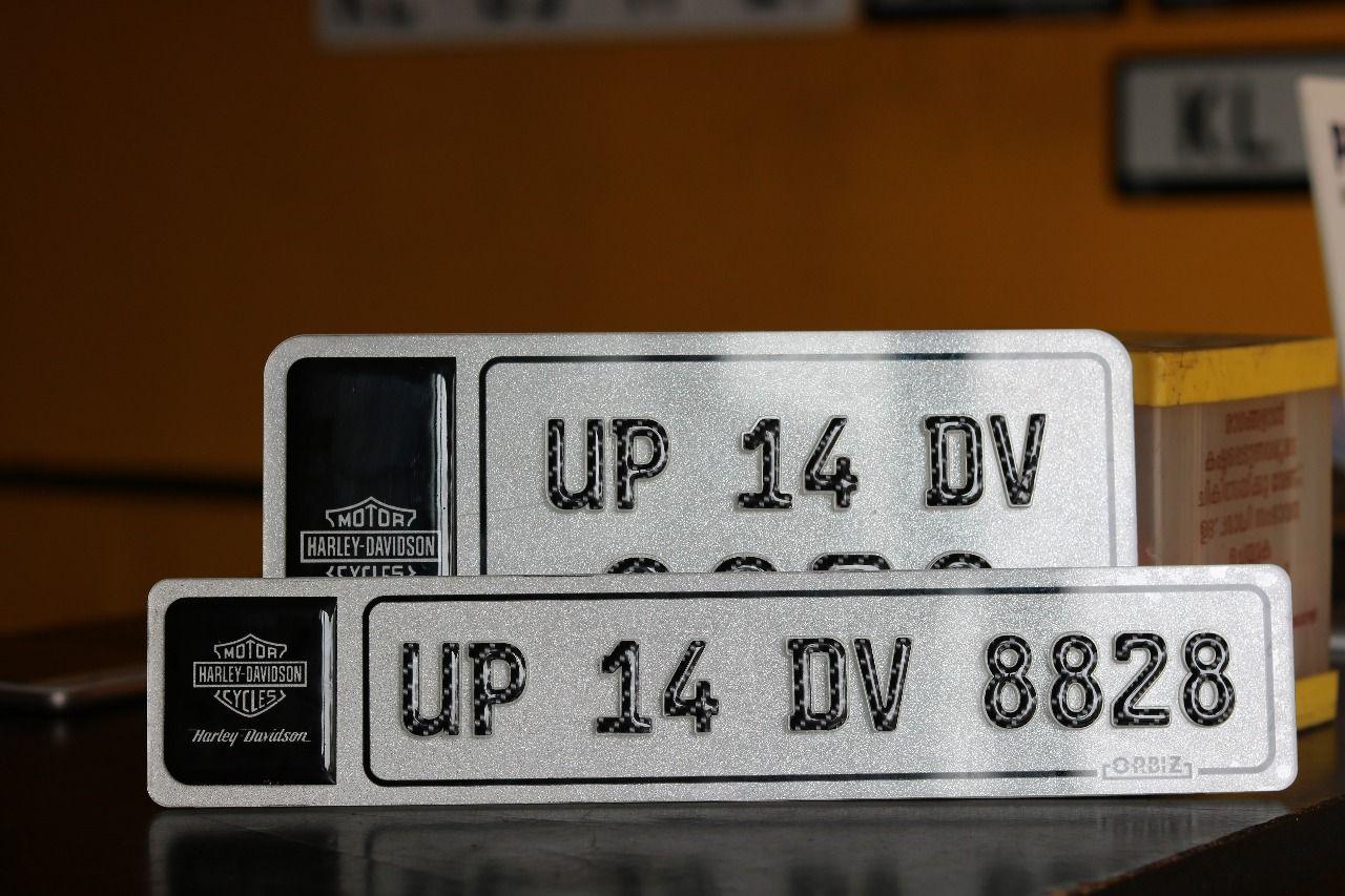 Crystal 3d Car Number Plate Car Number Plates Number Plate