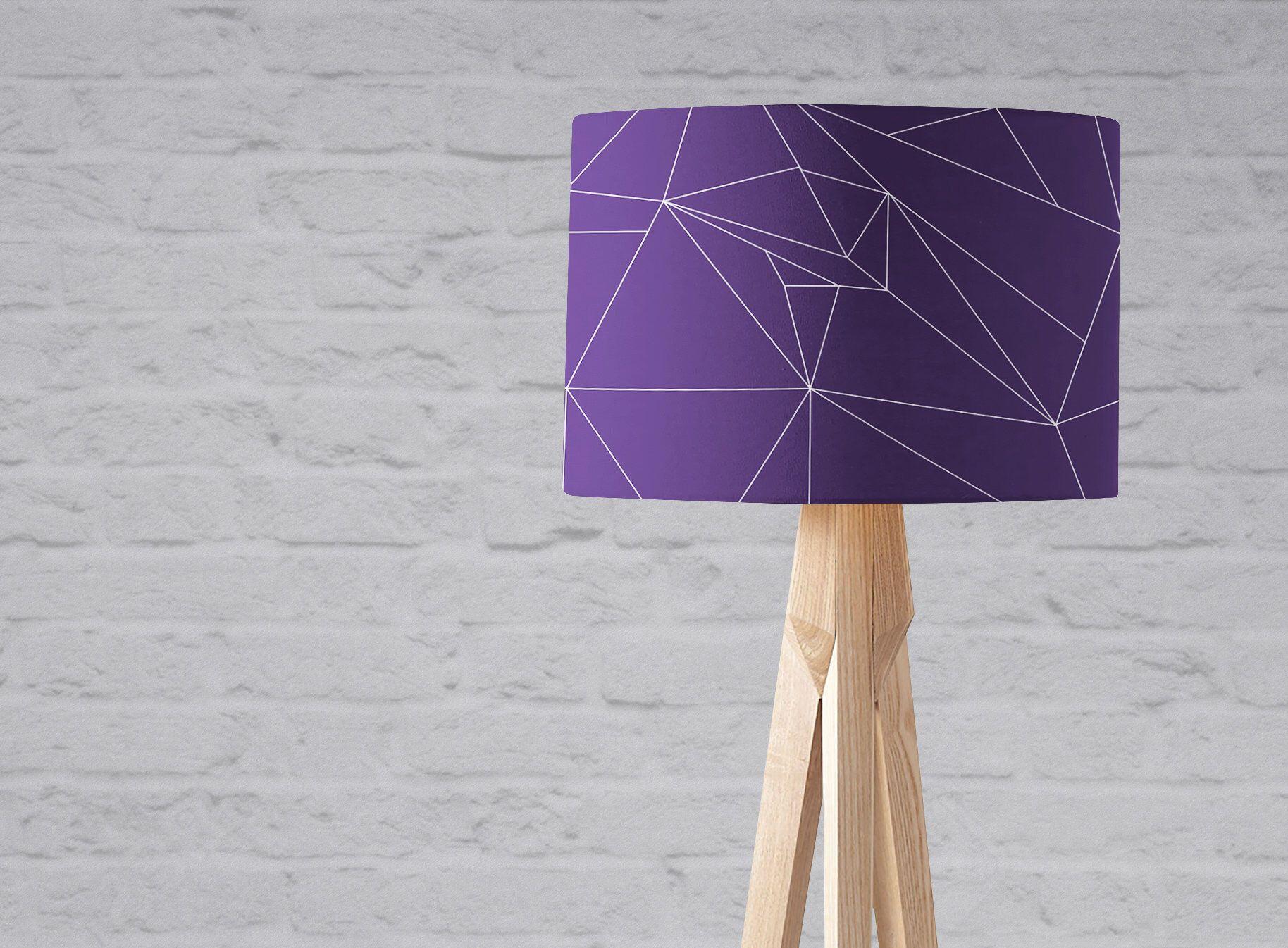 Purple Lamp Shade Purple Home Decor Violet Decor Modern Purple Trending Home Decor Purple Bedroom Decor P Purple Lamp Purple Lamp Shade Purple Home Decor