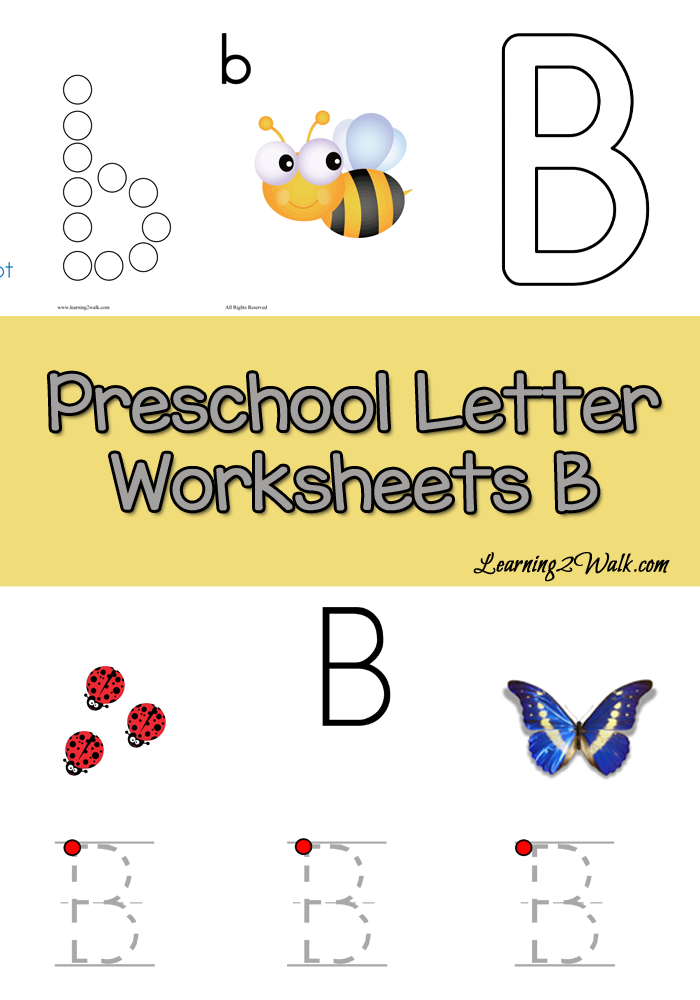 free preschool letter b worksheets learning 2 walk best of no stress homeschooling letter. Black Bedroom Furniture Sets. Home Design Ideas