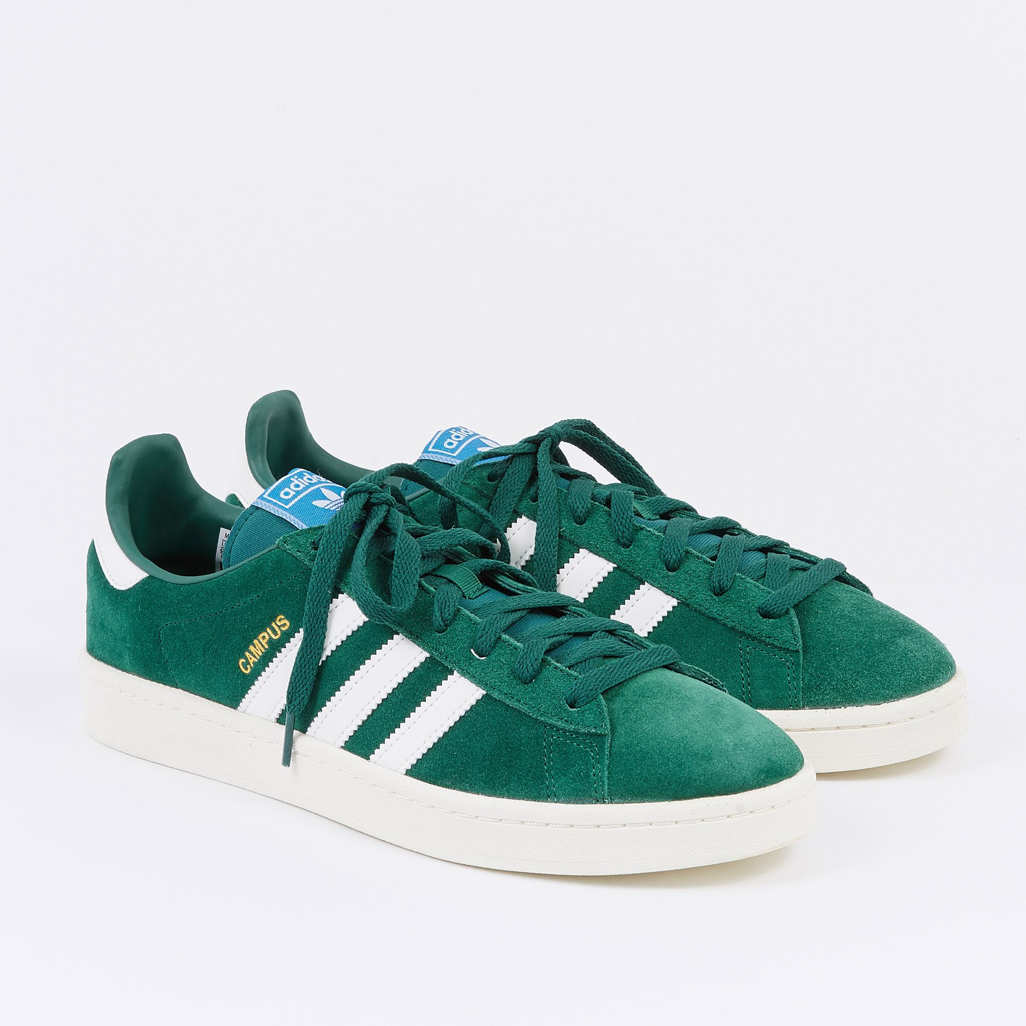 new style af848 99024 Adidas Campus - Collegiate Green