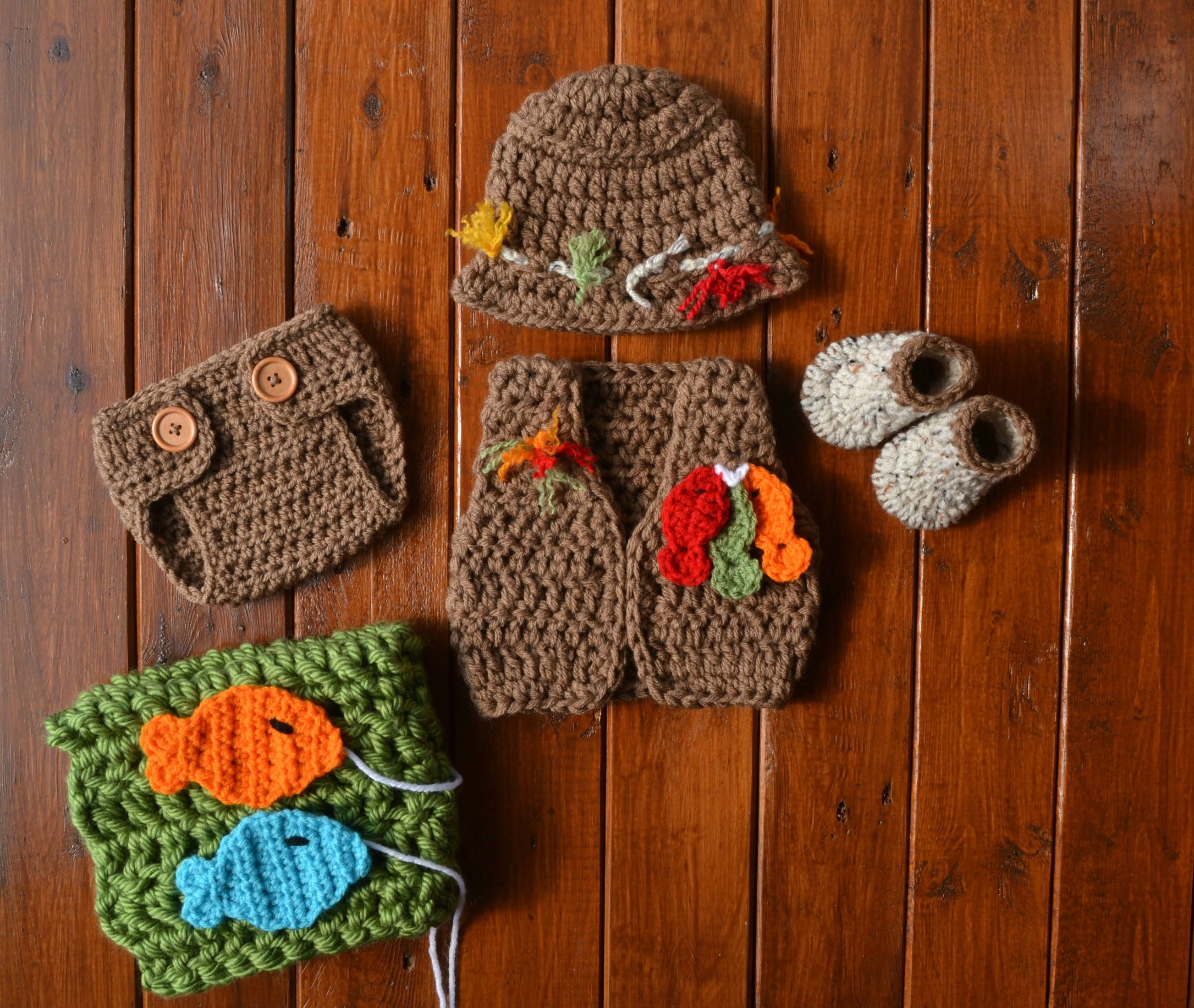 Newborn Baby Fishing Outfit Baby Fishing Vest Fishing Outfit For