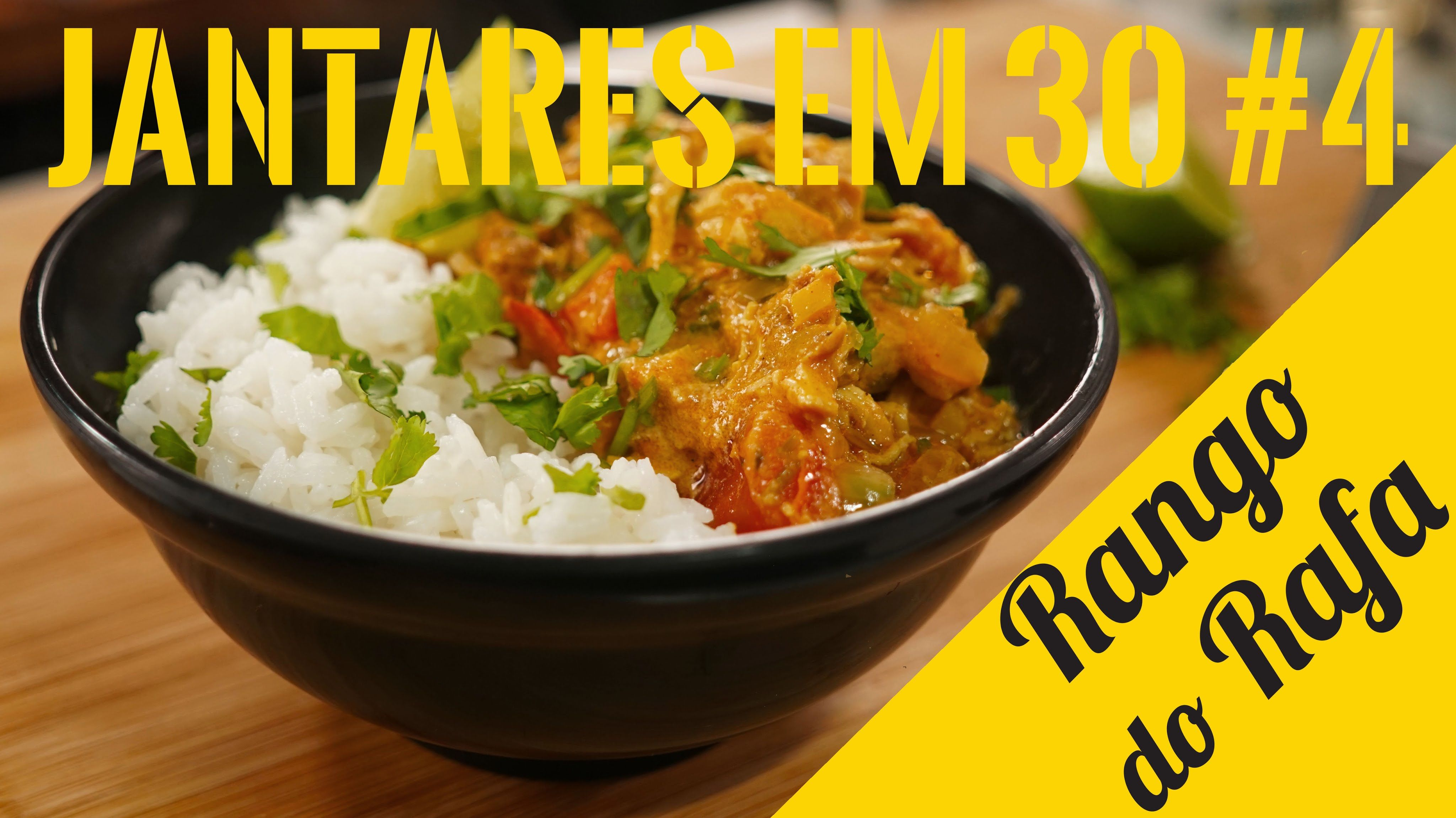 Tika Masala - Curry Indiano - Rango do Rafa