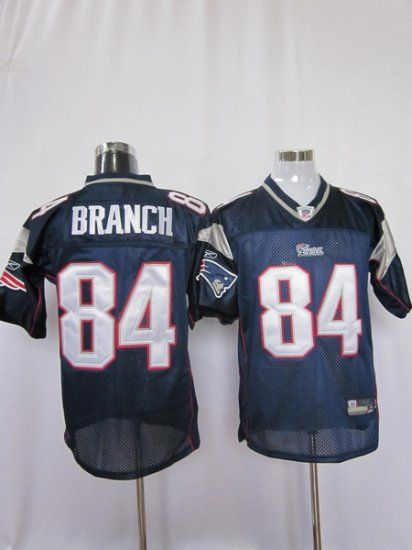 a6c32df86 Patriots  84 Deion Branch Dark Blue Stitched NFL Jersey