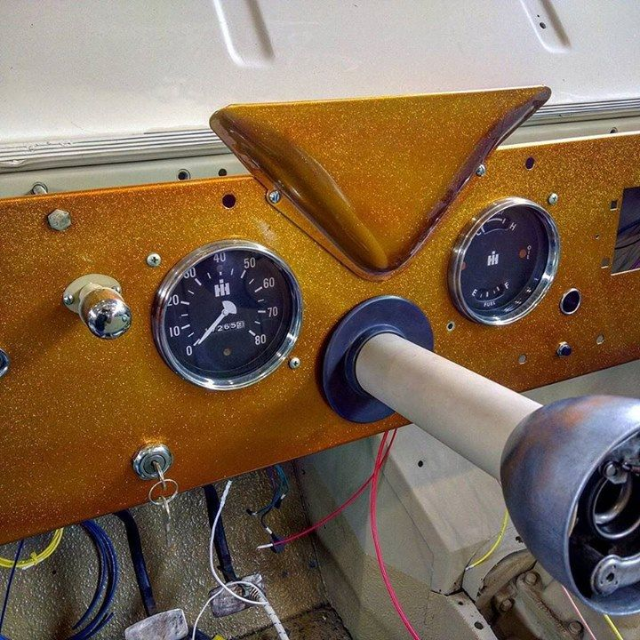 """    """"#solidgold #scout80 #wiring #dash #ihcscout @del5low @dog_p"""" By: b42575p @ http://ift.tt/1TDVTHa     international scout 80/800    """