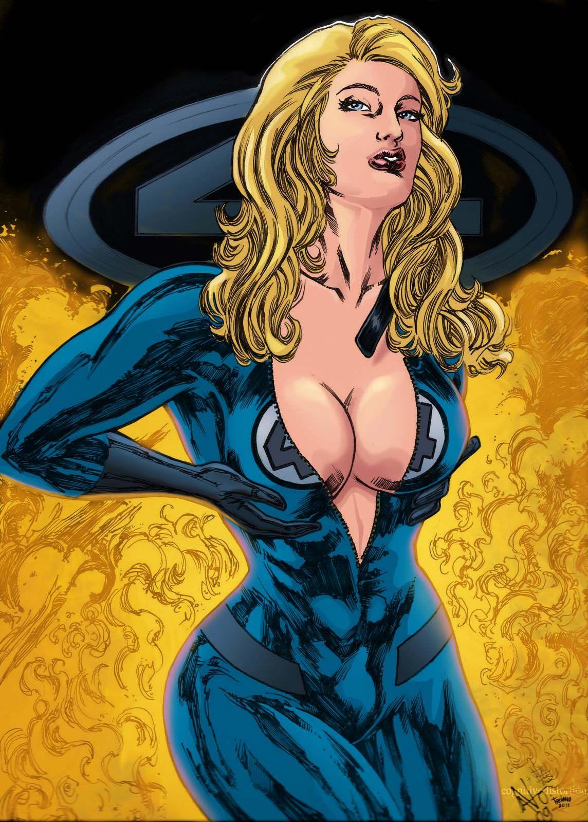 Marvel women sex porn boobs