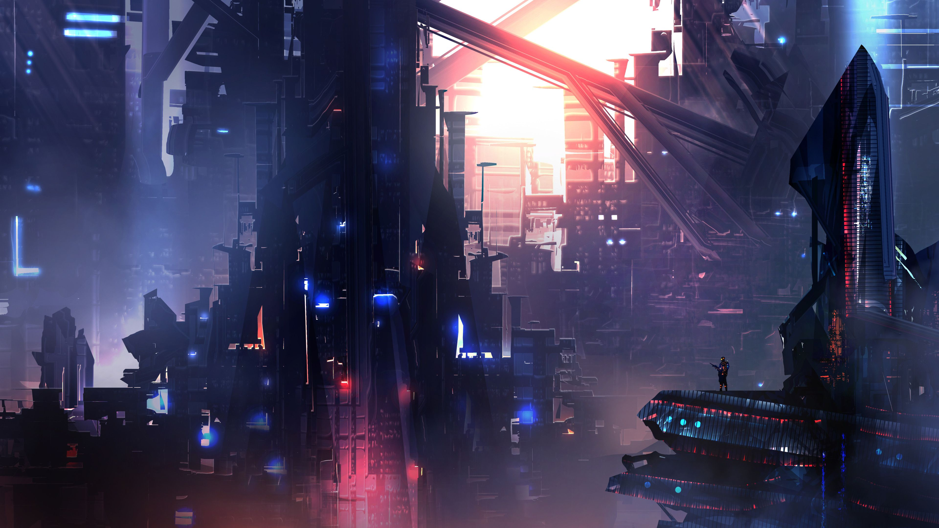 4k Sci Fi Wallpaper Dump Album On Imgur Sci Fi Wallpaper Cyberpunk Art City Wallpaper