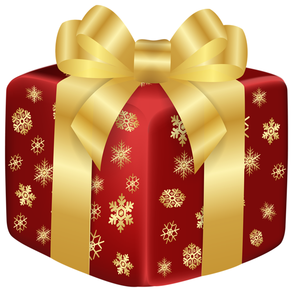 Christmas red gift png clip art image box pinterest christmas red gift png clip art image negle Images
