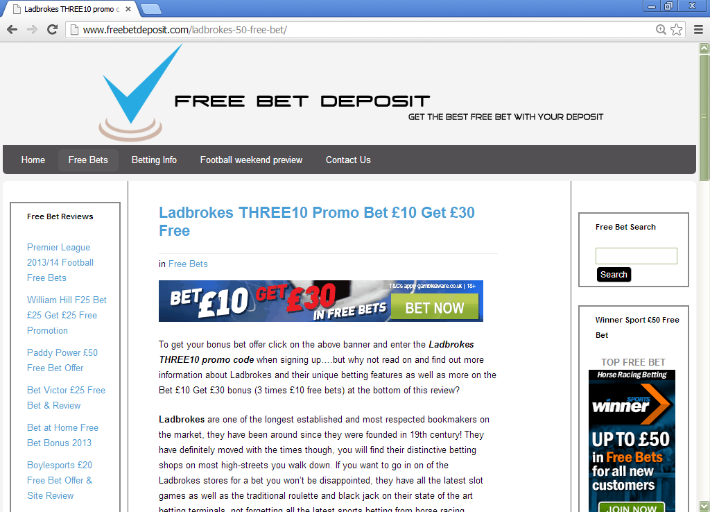 An impartial review of Ladbrokes Sportsbook wp.me/p2POy5