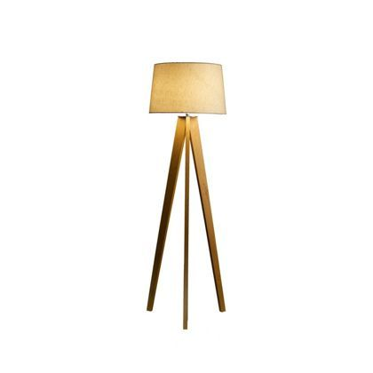 Kitty Tripod Wood Floor Lamp At Homebase Be Inspired And Make