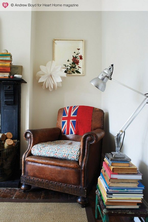 1940s house: living room