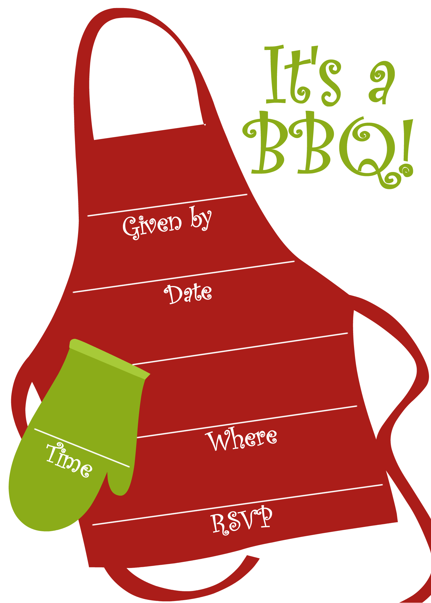 Free BBQ Party Invitations Templates – Party Invite Website