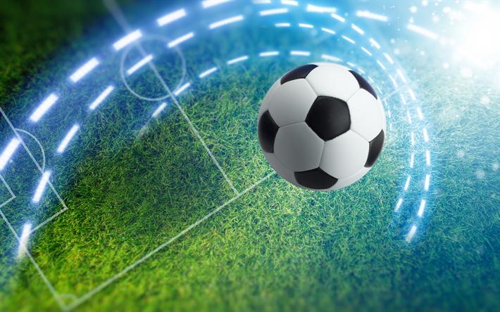 Fondos De Pantalla Fútbol Pelota Silueta Deporte: Descargar Fondos De Pantalla Fútbol, Estadio De Fútbol