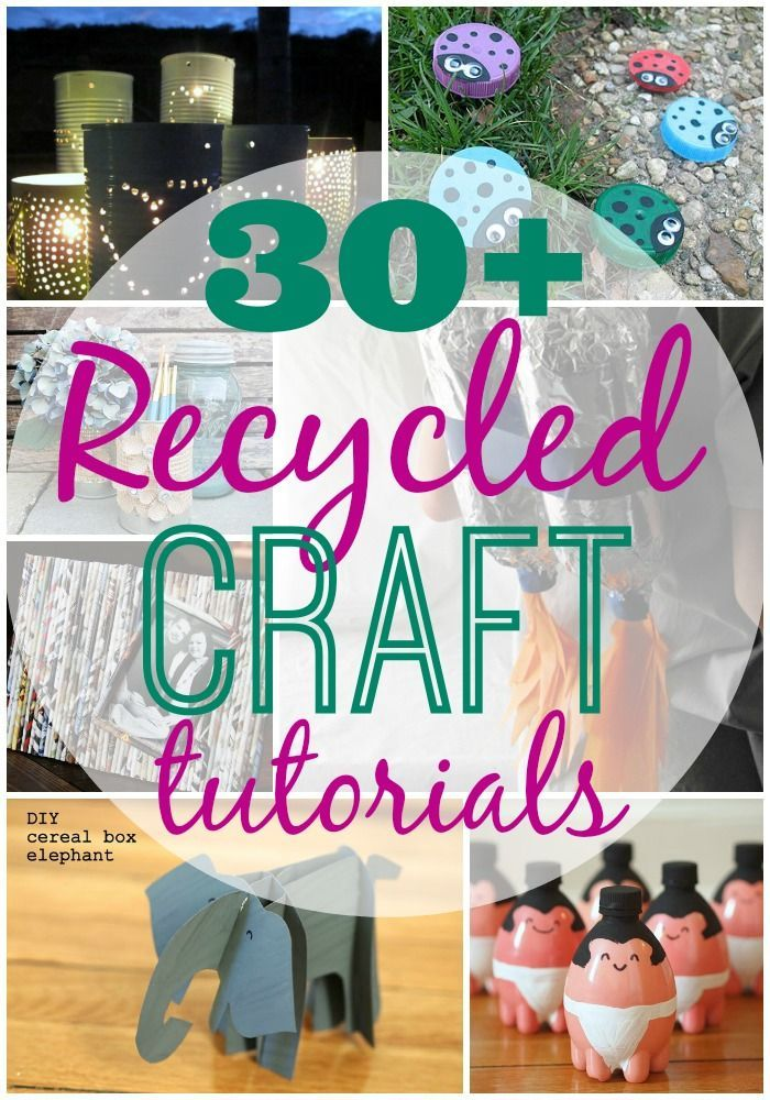30 plus recycled crafts craft videos upcycling and jar